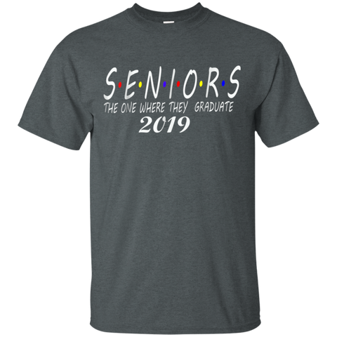 The One Where They Graduate Seniors 2019 T-shirt