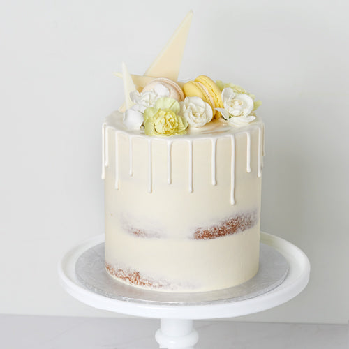 Cake Decorating - Semi Naked Cake