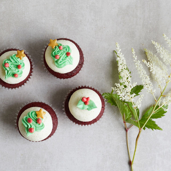 Cupcake Decorating - Xmas