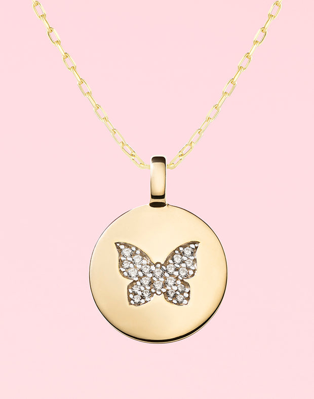"""Believe in Yourself"" Butterfly Gift Set"