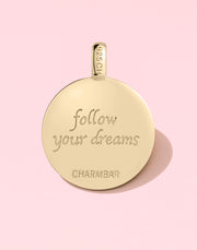 """Follow Your Dreams"" Moon & Star"