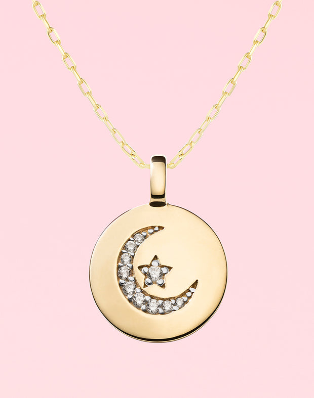 """Follow Your Dreams"" Moon & Star Gift Set"