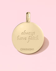 """Always Have Faith"" Cross Gift Set"