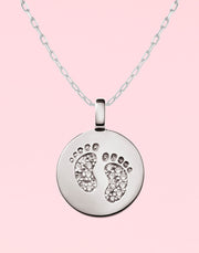 """Forever Precious"" Footprint Gift Set"