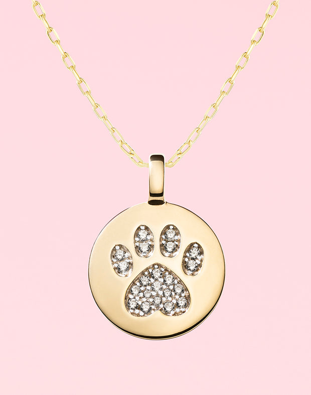 """Puppy Love"" Pawprint Gift Set"