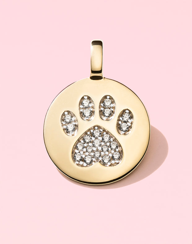 """Puppy Love"" Pawprint"