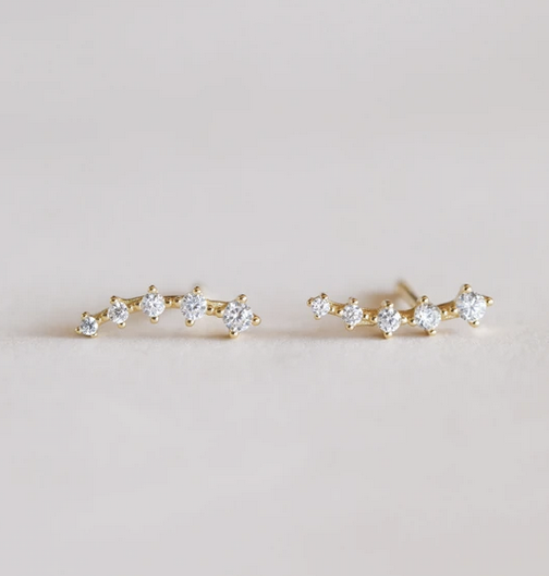 Crawler Earring (available in 2 colors)