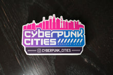 Load image into Gallery viewer, Cyberpunk Cities Sticker