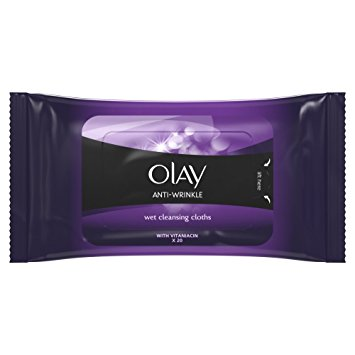 Olay Anti-Wrinkle Wet Cleansing Cloths 20