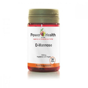 Power Health D-Mannose 30 Tablets