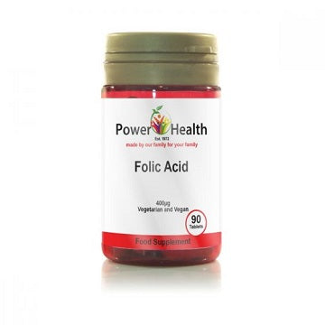 Power Health Folic Acid 90 Tablets