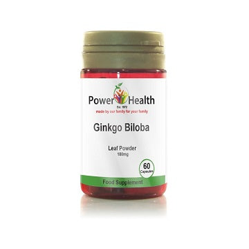 Power Health Ginkgo Biloba 60 Capsules