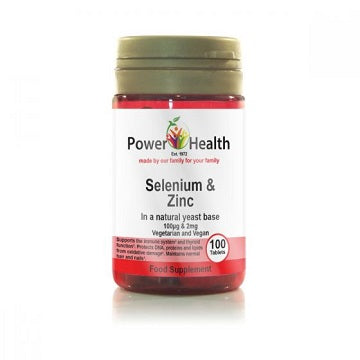 Power Health Selenium and Zinc