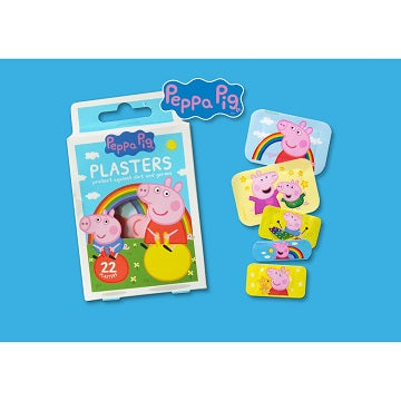 Peppa Pig 22 Assorted Plasters