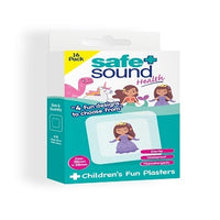 Safe + Sound Children's Fun Princess Design 16 Plasters