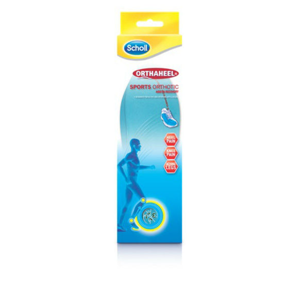 Scholl Orthaheel Sports Insoles Large