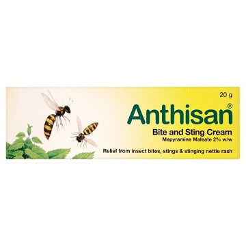Anthisan Bite & Sting 2% w/w Cream 20g