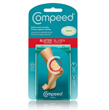 Compeed Blister Plasters - Medium 5 Pcs