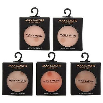 Max & More Pressed Powder Blush