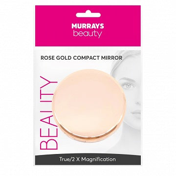 Murrays Beauty Rose Gold Compact Mirror