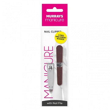 Murrays Manicure Nail Clipper with Nail Files