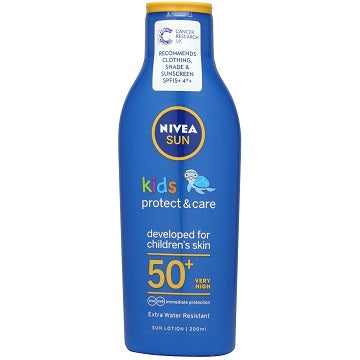 Nivea Kids Protect & Care Sun Lotion SPF 50+ 200ml