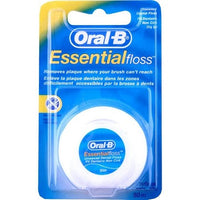 Oral B Unwaxed Essentialfloss 50m