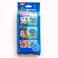 Paw Patrol Hand And Face Wipes 3 Packs x10 Wipes