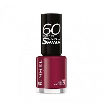 Rimmel 60 Second Nail Polish - Berries and Cream