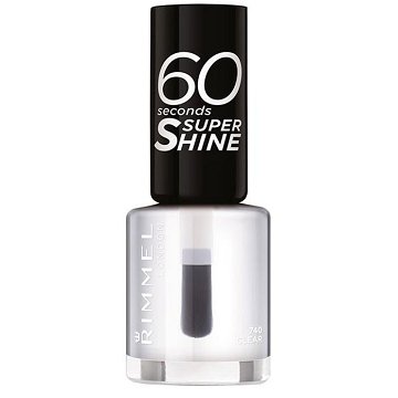 Rimmel 60 Second Nail Polish- Clear