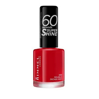 Rimmel 60 Second Nail Polish- Double Decker Red