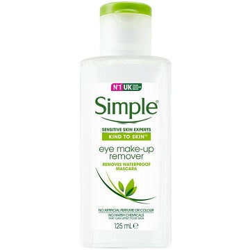 Simple Kind To Skin Eye Make-Up Remover 125ml