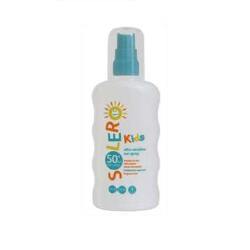 Solero Kids Ultra Sensitive Sun Spray SPF 50+ 200ml