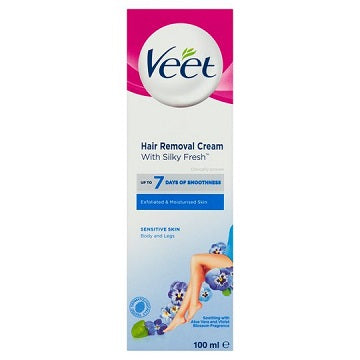 Veet Sensitive Skin Body & Legs Hair Removal Cream 100ml
