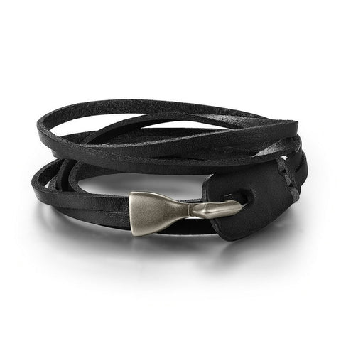 Unisex Leather Bracelet - TheMinimalistLotus