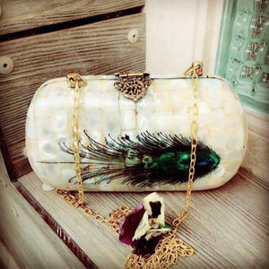 Mother Of Pearl ( MOP) Clutch