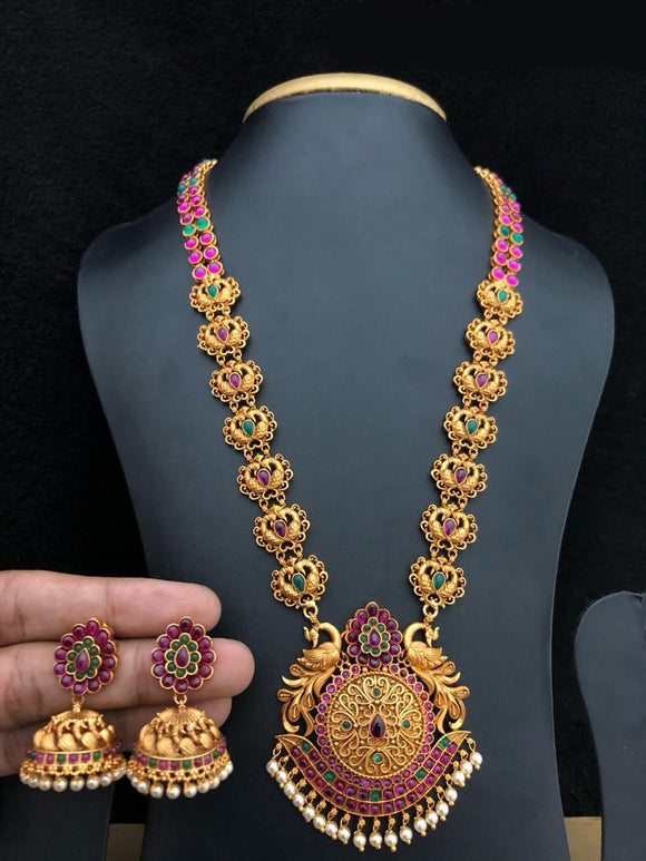 Beautiful Chandbali Necklace