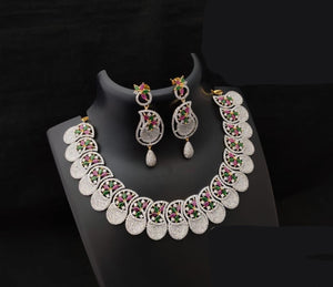 Fully Flexible CZ Diamond Necklaace
