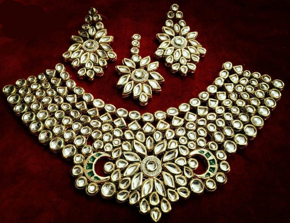 Exclusively Designed Kundan Necklace