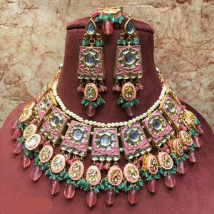 Meenakari Choker Necklace