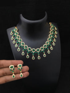 High Quality Diamond Stone Necklace