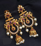 Long Chandbali Earrings