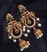 Load image into Gallery viewer, Long Chandbali Earrings