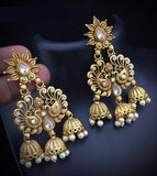 Ghumar Style Earrings