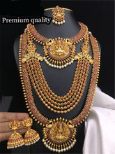 Load image into Gallery viewer, South Indian Fashion Temple Jewelry Combo