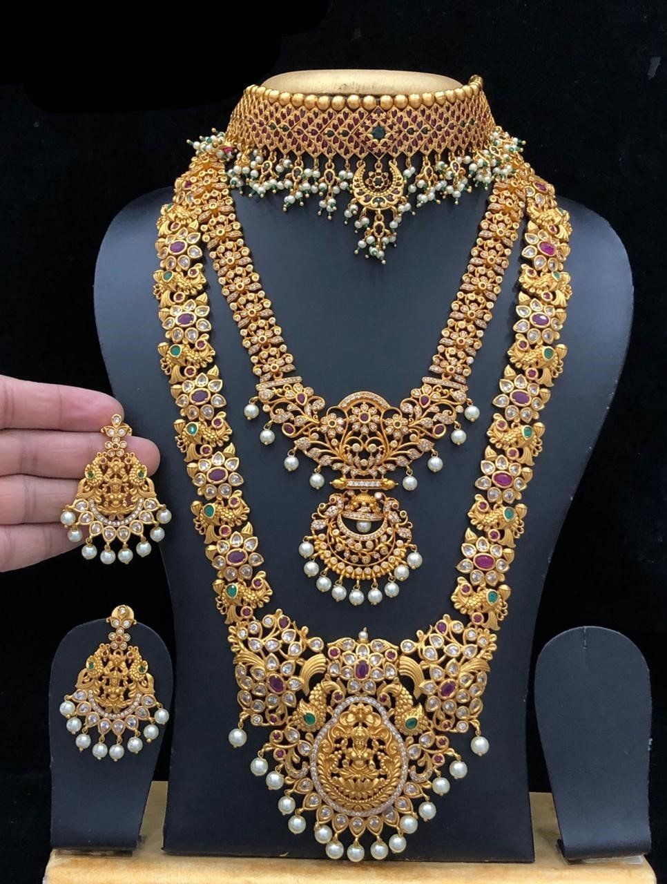 South Indian Fashion Full Bridal Jewelry