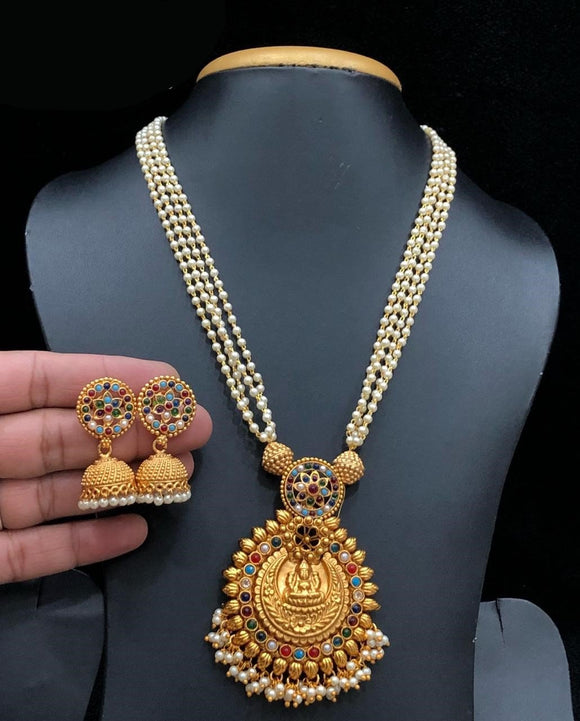 Laxmiji Designed Pendant Mala Necklace