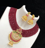 CZ Diamond Beads Short Necklace Collection
