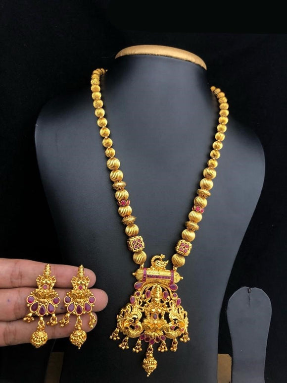 Beautifully Designed Temple Necklace