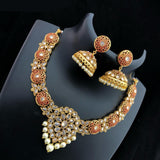 Meenakari Kundan Necklace